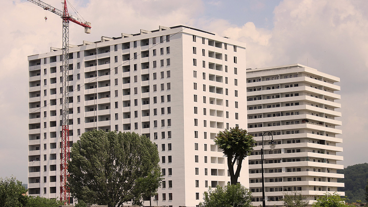 Constructia blocurilor RO5 RO6 Valcea